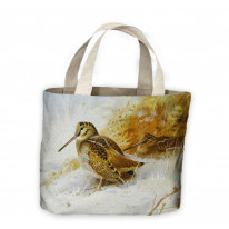 Archibald Thorburn Winter Woodcock Tote Shopping Bag For Life