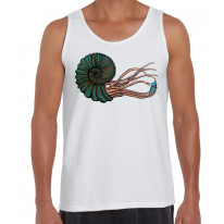 Graffiti Octopus With Spray Can Men's Tank Vest Top
