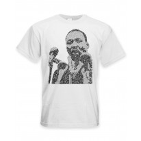 Martin Luther King Microphone Design Men's T-Shirt