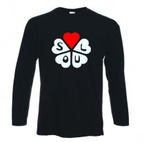 Northern Soul Hearts Long Sleeve T-Shirt