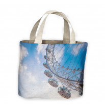 London Eye Tote Shopping Bag For Life