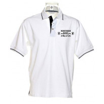 Northern Soul A Way Of Life Tipped Polo T-Shirt