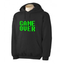 Game Over Gaming Hoodie