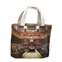 Banksy Monkey Parliament Tote Shopping Bag For Life