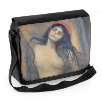 Edvard Munch Madonna Laptop Messenger Bag