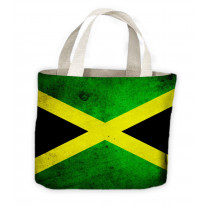 Jamaican Flag Tote Shopping Bag For Life