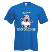 Love Sheep But Not With Mint Vegetarian T-Shirt