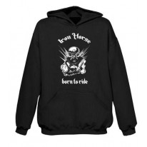 Iron Horse Born To Ride Hoodie