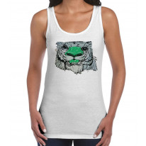 Graffiti Tiger Women's Tank Vest Top
