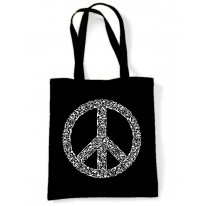 Peace Symbol CND Tote Shoulder Shopping Bag