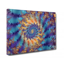 Fractal Box Canvas Print Wall Art - Choice of Sizes