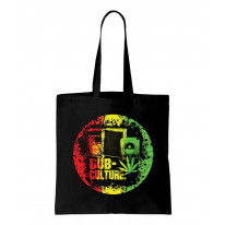 Dub Culture Reggae Cotton Tote Shopping Bag