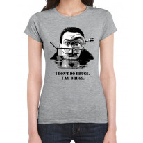 Salvador Dali Drugs Quote Women's T-Shirt