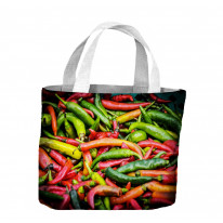 Chillies Tote Shopping Bag For Life