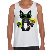 French Bulldog Brazillian Style Men's Tank Vest Top