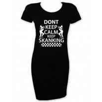 Don't Keep Calm Keep Skanking T-Shirt Dress
