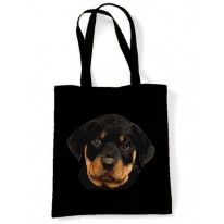 Rottweiler Puppy Shoulder Bag