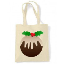 Christmas Pudding Shoulder Bag
