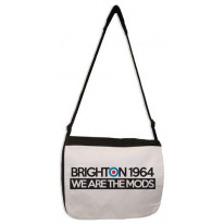 Brighton 1964 We are The Mods Laptop Messenger Bag