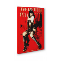 Betty Page Fantastique Box Canvas Print Wall Art - Choice of Sizes