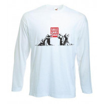 Banksy Sale Ends Today Long Sleeve T-Shirt