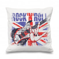 Rock 'N' Roll Union Jack Cushion