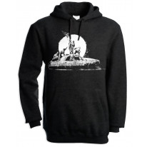 Banksy LA Flag Men's Pouch Pocket Hoodie Hooded Sweatshirt