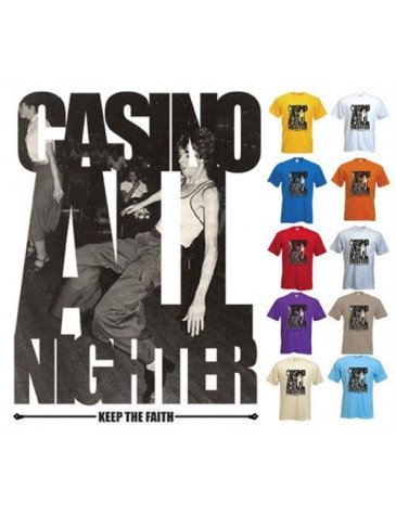 Casino All Nighter Northern Soul T-Shirt