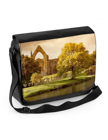 Bolton Abbey Yorkshire Laptop Messenger Bag