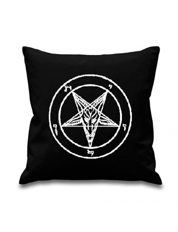 Pentagram Pagan Scatter Cushion