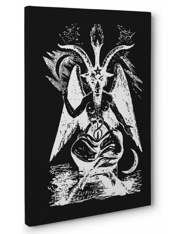 Goat of Mendes Box Canvas Print Wall Art - Choice of Sizes