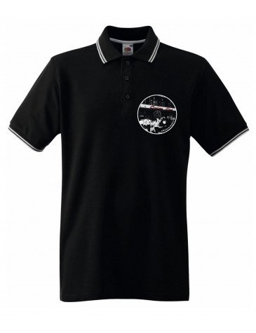 Wigan Casino It'll Never Be Over For Me Logo Men's Contrast Tipped Polo Shirt