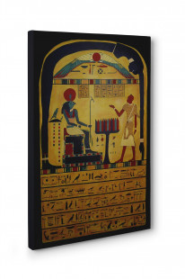 Aleister Crowley Stele of Revealing Box Canvas Print Wall Art - Choice of Sizes