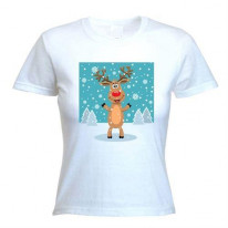 Goofy Rudolph The Red Nosed Reindeer Women's T-Shirt