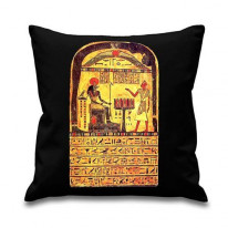Aleister Crowley Stele Of Revealing Cushion