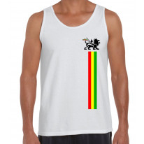 Lion Of Judah Stripes Reggae Men's Tank Vest Top