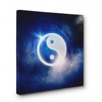 Yin and Yang Box Canvas Print Wall Art - Choice of Sizes