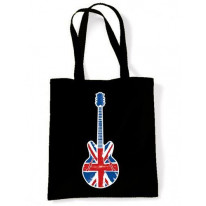 Union Jack Guitar Shoulder Bag