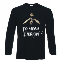 Aleister Crowley To Mega Therion Long Sleeve T-Shirt
