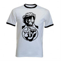 Curtis Mayfield Superfly Contrast Ringer T-Shirt