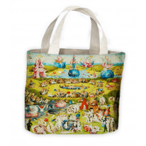 Hieronymus Bosch Garden of Earthly Delights Tote Shopping Bag For Life
