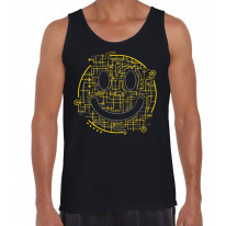 Electric Smiley Acid Face Men's Tank Vest Top