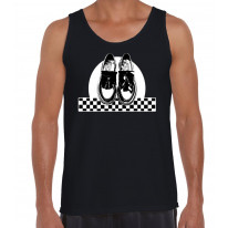Ska Dancing Shoes Men's Tank Vest Top