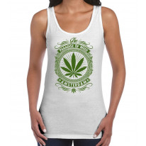 Amsterdam Paradise Of Weed Women's Tank Vest Top