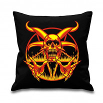Fire Pentagram Scatter Cushion
