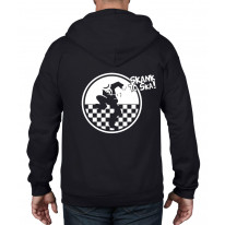 Skank to Ska Full Zip Hooded Sweatshirt Hoodie