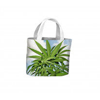 Marijuana Leaves Tote Shopping Bag For Life