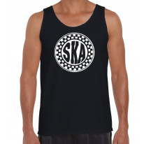 Ska Circle Logo Men's Tank Vest Top
