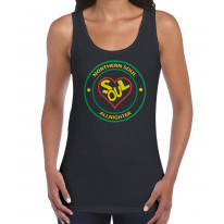 Northern Soul All Nighter Heart Logo Women's Vest Tank Top
