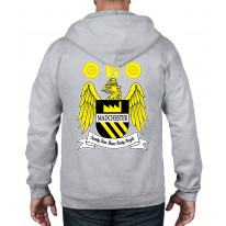 Madchester 24 Hour Party People Coat of Arms Full Zip Hoodie